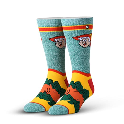 Amazon.com: Odd Sox Officially Licensed - Mens Crew Knit ...