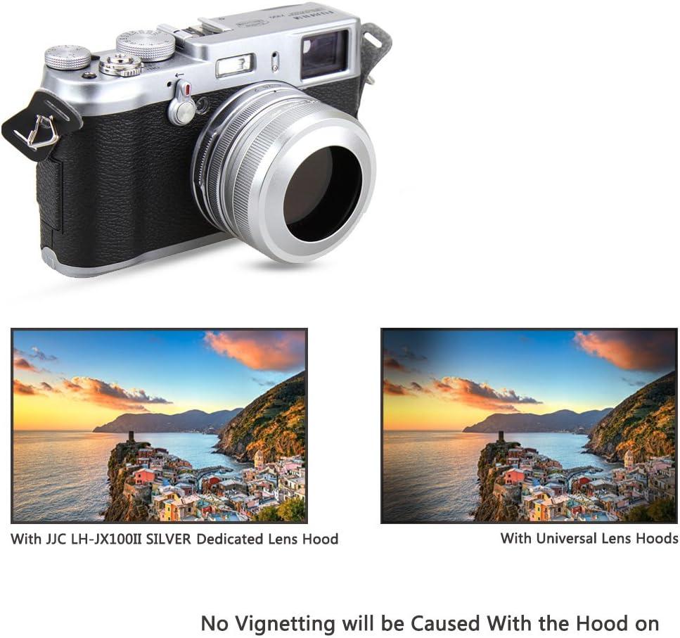 Replaces Fujifilm LH-X100 Lens Hood X100T X100S X100 Digital Camera JJC Black Lens Hood for Fuji Fujifilm Finepix X100F