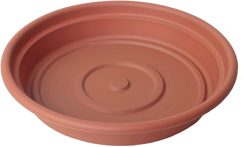 "6 Old Vintage Terracotta Plant Pot Saucers  Shallow Pots 6/"" Diameter 300o"