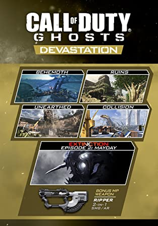 Call Of Duty Ghosts Devastation Online Game Code Video Games