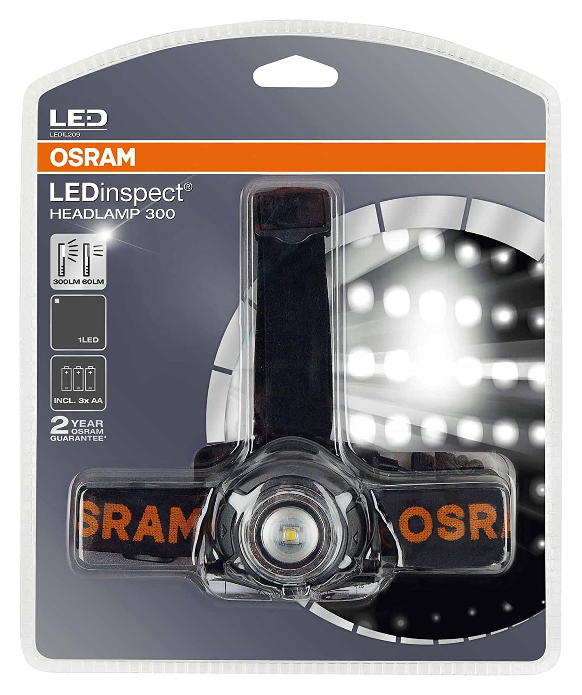 OSRAM LEDIL107 LEDinspect PRO POCKET 280 Lampada da Lavoro a LED Ricaricabile