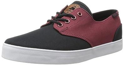 C1RCA Men's AL13 Fashion Sneaker,Oxblood/Black,7.5 ...
