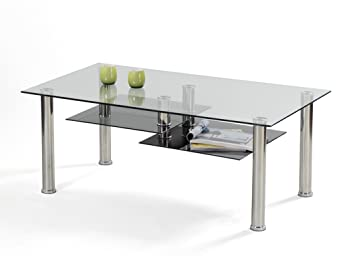 Outdoor Küche Metro : Ilert couchtisch metro glas metall schwarz aluminiumfarben: amazon