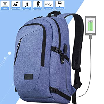Amazon.com: Mochila de viaje para ordenador portátil ...