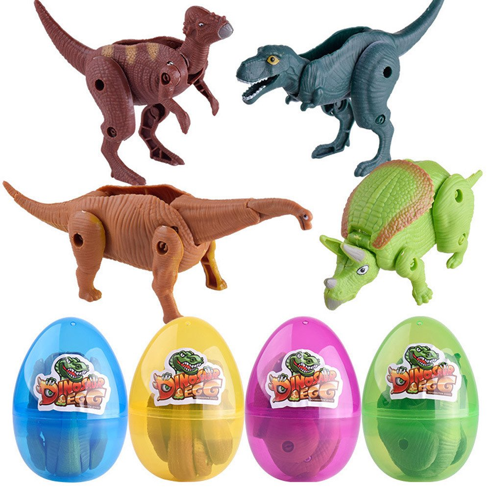 Vibola Simulation Dinosaur Toys,Educational Toys Deformed Dinosaur Egg,Party Favor Toy Great Birthday for Girls Boys