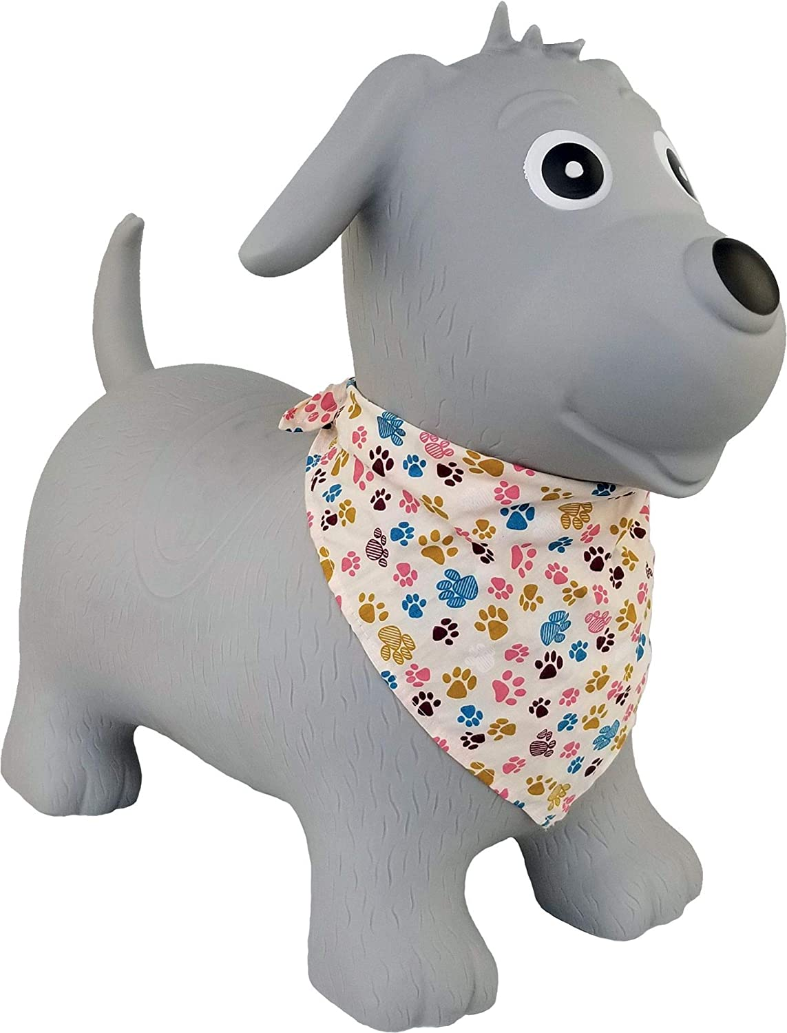 Simply for kids - Bola Skippy Perro Gris para Bebe - 38632: Amazon ...