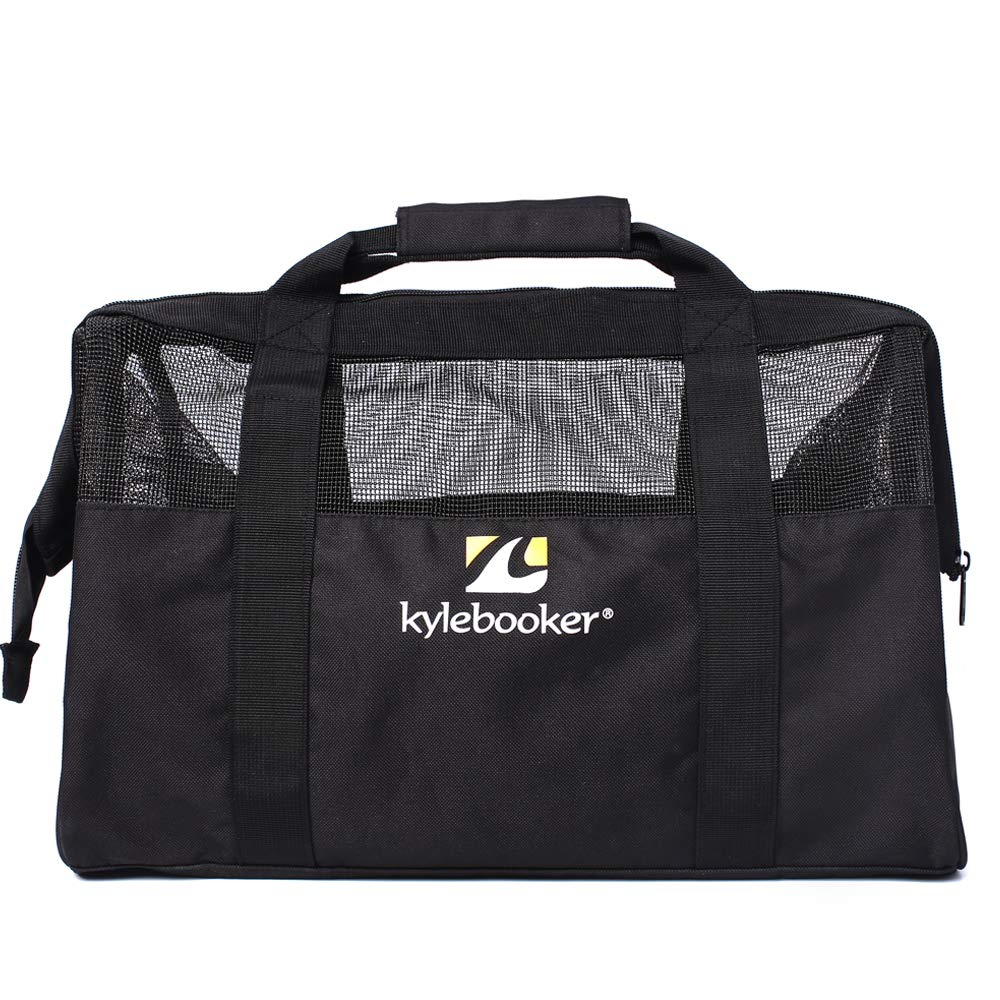 Para pesca con mosca de neopreno bolsa pesca deportes pecho Wader Botas de vadeo bolsa de almacenamiento accesorios de pesca Gear Bag KyleBooker