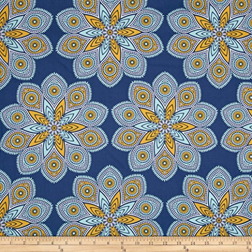 oel Dewberry Wander Starlight Midnight Fabric By The Yard