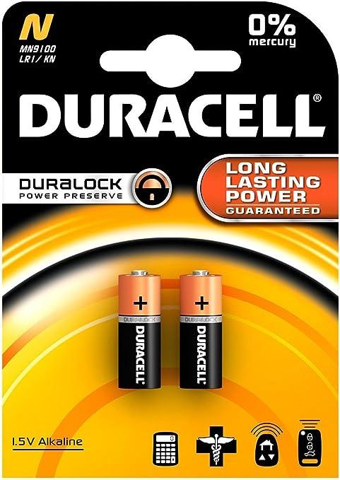 10x Duracell Basic Alkaline Batterie N Lr1 Lady Küche Haushalt