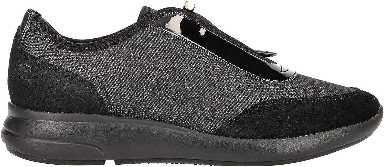 Calzado Deportivo para Mujer, Color Negro, Marca GEOX, Modelo Calzado Deportivo para Mujer GEOX D941CB Negro