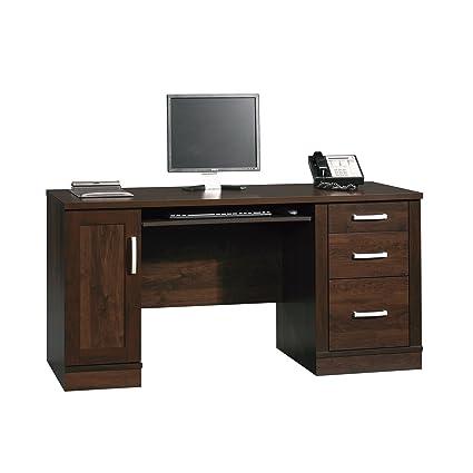 Merveilleux Sauder 408291 Office Port Credenza, Dark Alder