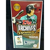 $79 » 2021 Topps Archived Retired Player Edition MLB Baseball box (1 autographed buyback card/bx)
