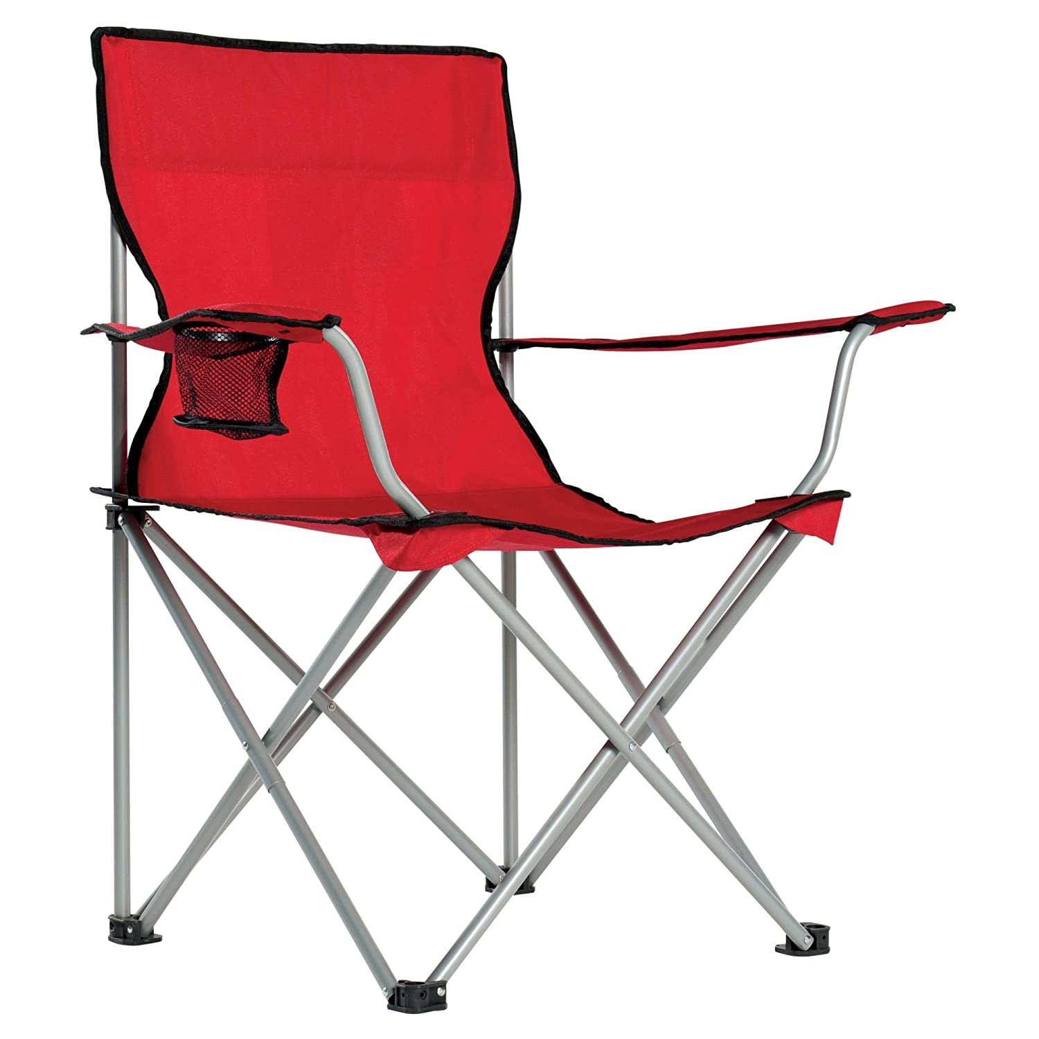 Folding Camping Chair with Cup Holder from Bell Pass Ventures B075WDCWS4