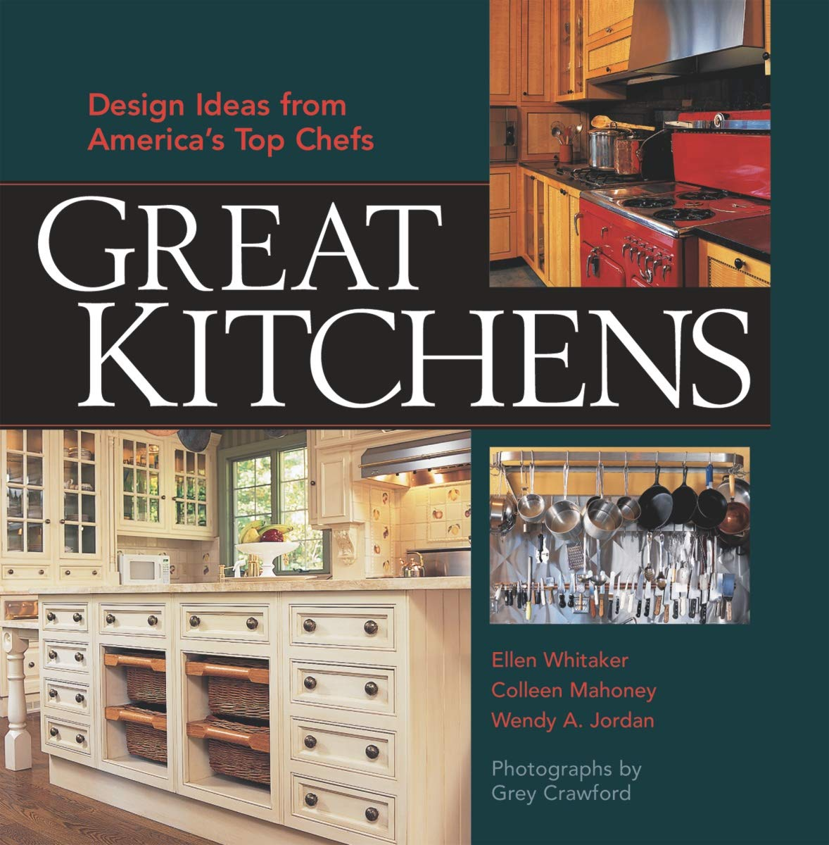 Great Kitchens At Home With America S Top Chefs Reinheimer Ellen C 9781561585342 Amazon Com Books