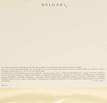 Amazon.com   Bvlgari By Bvlgari For Women. Eau De Parfum Spray 3.4 Ounces    Bvlgari Perfume   Beauty c0a832ba0dd