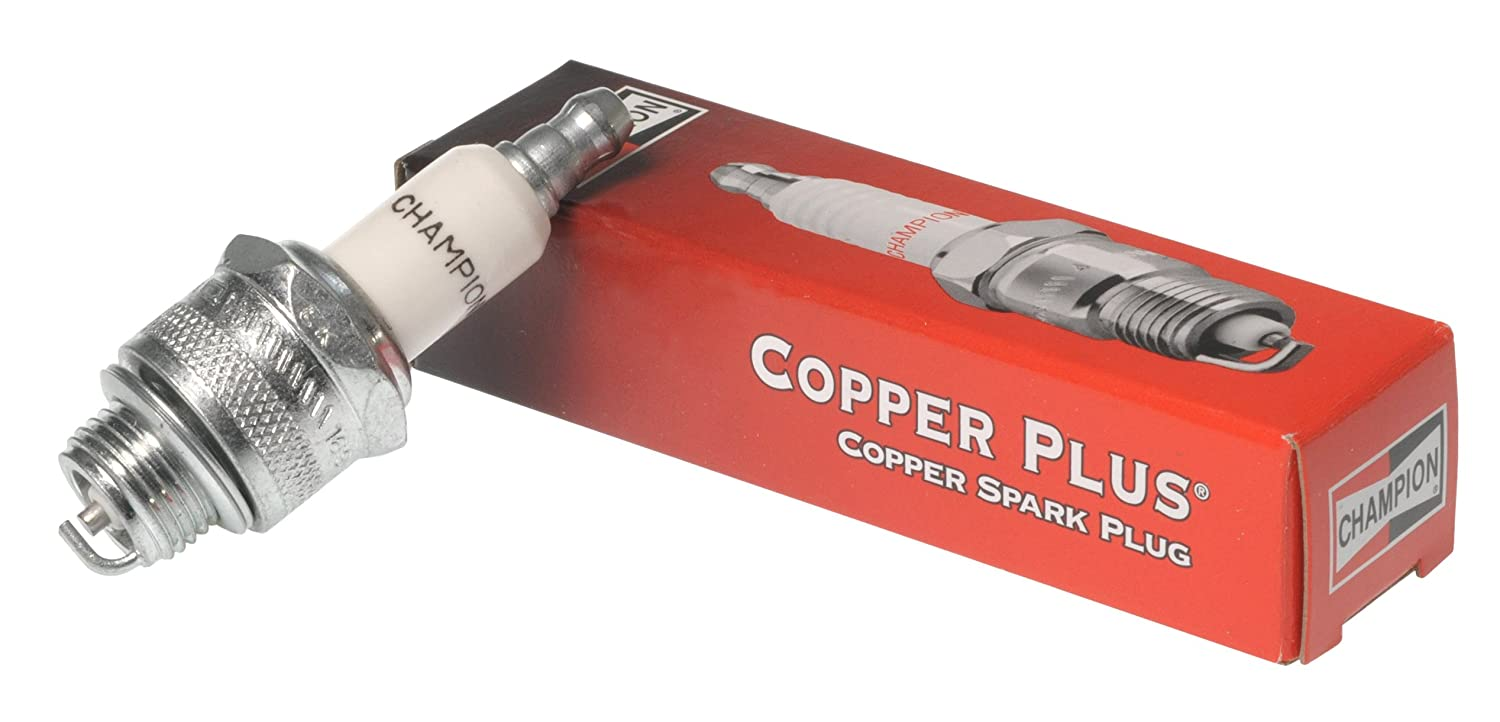 Champion RJ19LM Copper Plus Small Engine Replacement Spark Plug Pack of 1 868