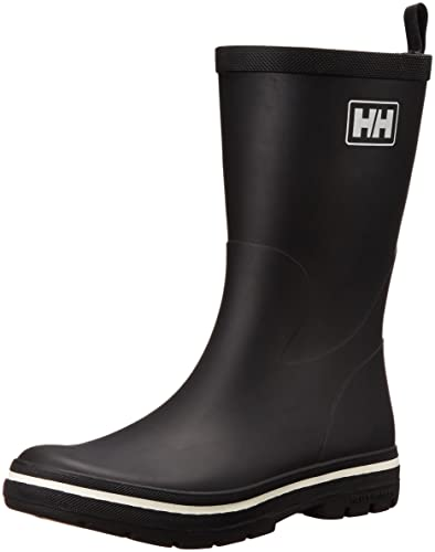 Helly Hansen Midsund 2 Herren Gummistiefel, Schwarz (Black/Off White 990), 40 EU