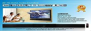 Apex Digital ASB 6000 HD Digital Home Theater Sound Bar, 350W