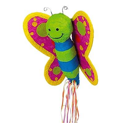 YA OTTA PINATA Butterfly Pull-String Pinata: Toys & Games