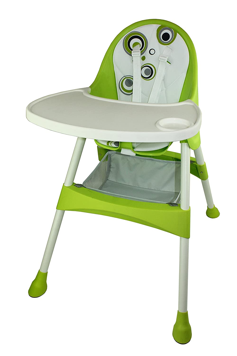 Baby Diego 2-in-1 High Chair, Green HCG2015