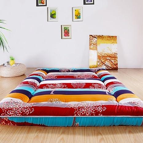 Amazon.com: Colchón Extra Grueso Tatami colchón plegable ...