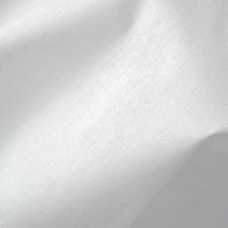 Tela de algodón - blanco - 100% algodón suave | ancho: 155 cm (1 ...