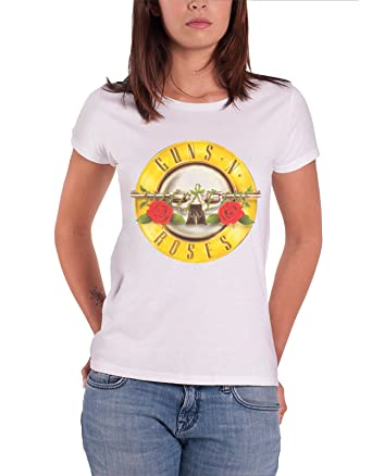 GunsRoses Damen Guns N Roses Classic Bullet Logo T-Shirt