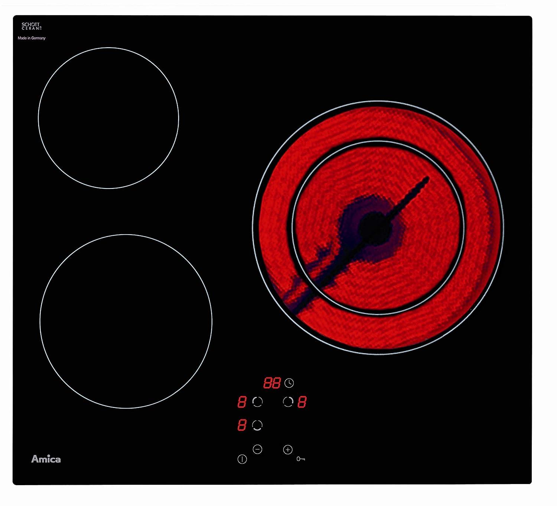 Amica placa vitrocerAMICA ph6310atu: Amazon.es: Hogar