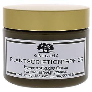 Origins Plantscription SPF 25 Power Anti-Aging Cream, Clear, 1.7 Ounce