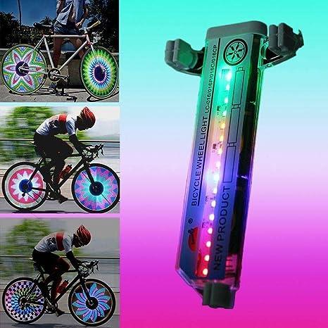 Whale city Luz de señal de Radio de 32 Colores LED para llanta de ...