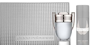 fbdadd495e4 Paco Rabanne Invictus Kit d Eau de Toilette Vaporisateur 100 ml + Déodorant  Vaporisateur 125