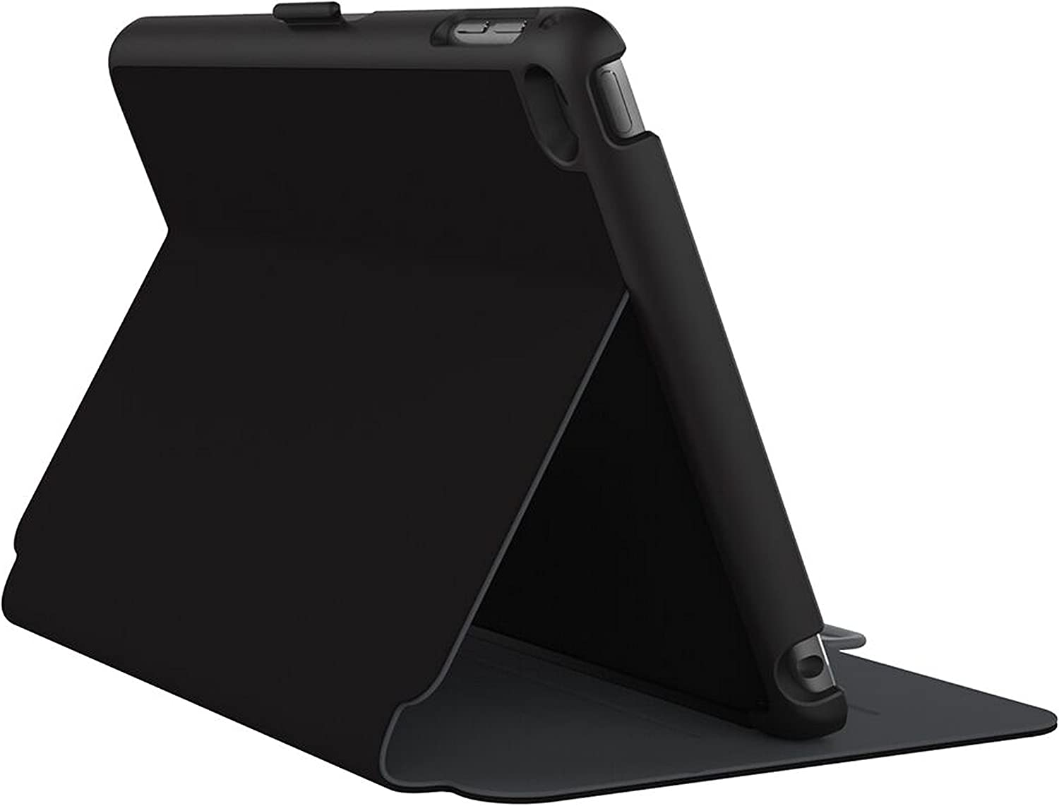 Speck Products StyleFolio Case and Stand for iPad Mini 4, Black/Slate Grey