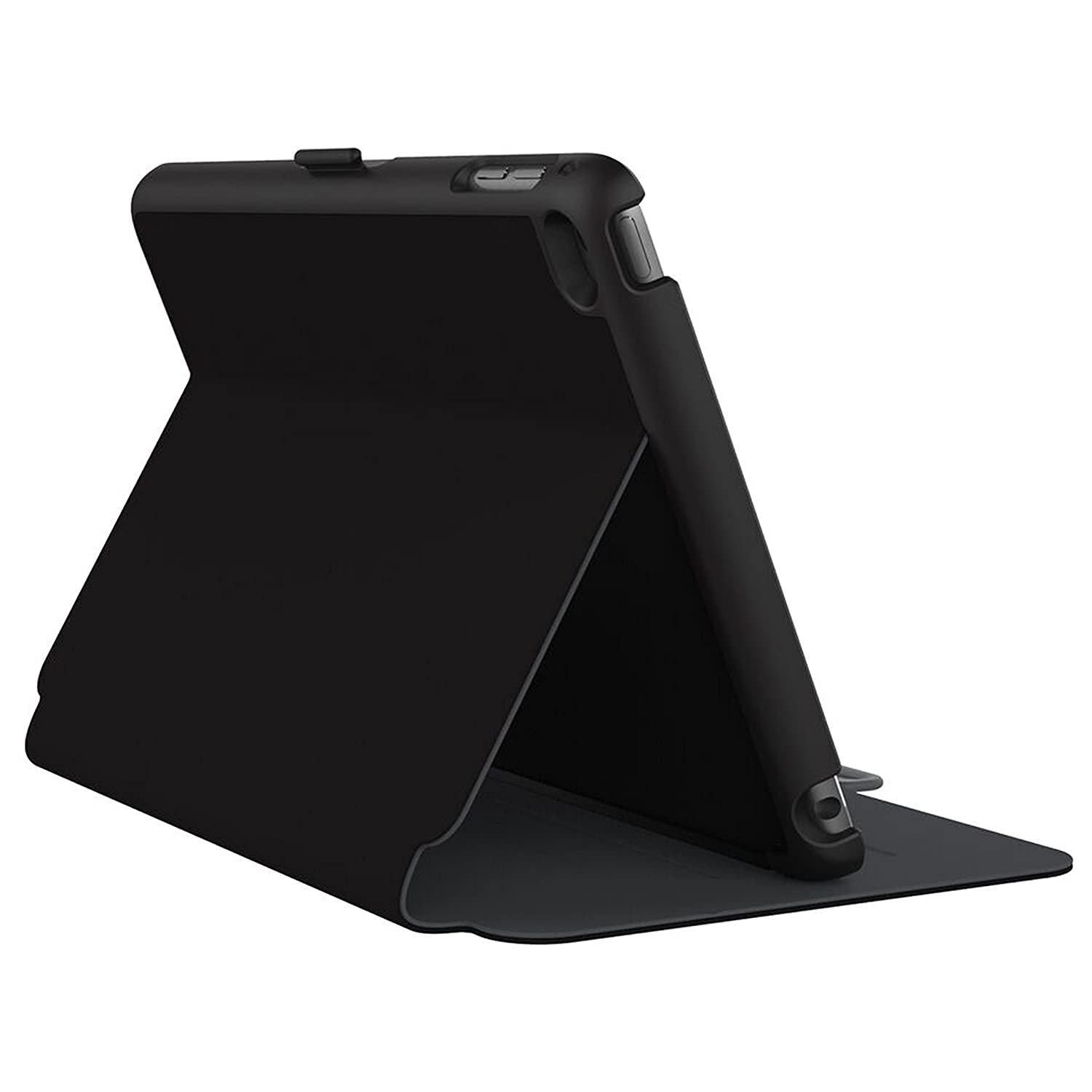 promo code 26237 49bc7 Speck Products StyleFolio Case and Stand for iPad Mini 4, Black/Slate Grey