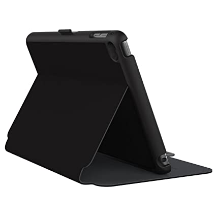 promo code 705ee cfae2 Speck Products StyleFolio Case and Stand for iPad Mini 4, Black/Slate Grey