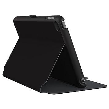 Speck Funda de Tabletas StyleFolio para iPad Mini 4 - Negro/Gris Pizarra