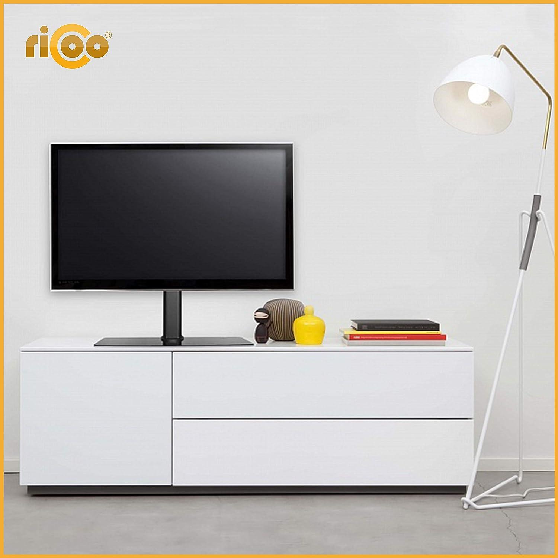 RICOO FS304-B, Soporte TV, Base de pie, Pedestal Mesa, Televisión ...