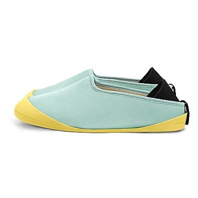 mahabis Aqua Summer Slippers + Grey Detachable Soles QRrG8unuQ