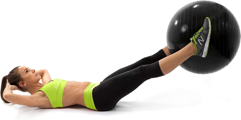 Amazon.com: ProsourceFit - Pelota de ejercicio de estabilidad (21.7 in):  Sports & Outdoors