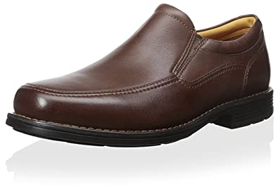 Rockport Men's Liberty Square Twin Gore Slip-on, Brown, ...