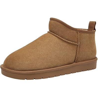 CAMEL CROWN Winterstiefel Herren Schneestiefel Wasserdicht Warm Gefüttert  Winterschuhe Stiefelette Rutschfeste Outdoor Boots Slip On Schuhe 5988936852