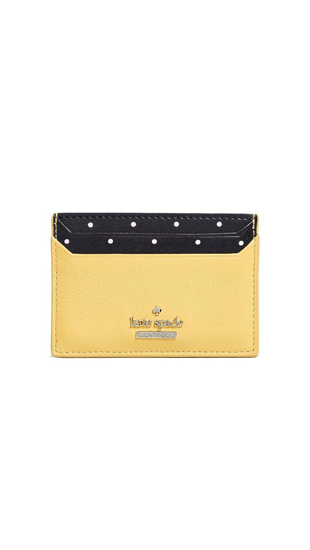 Kate Spade New York Women's Blake Street Lynleigh Card Case Black One Size