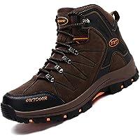 Ikeyo Zapatos de Senderismo para Hombre Impermeables Botas