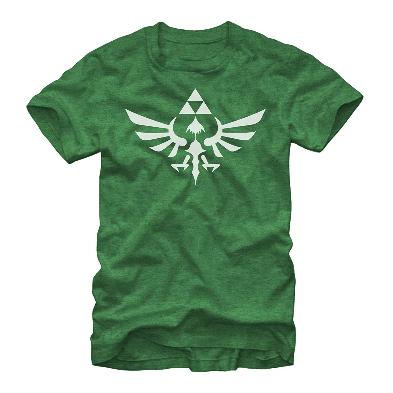 dace26e84 Nintendo Men's Legend of Zelda Triforce T-Shirt | Amazon.com