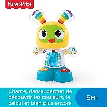 600a08aee5f38 Fisher-Price Bebo le Robot Interactif Jouet d Éveil avec 3 Modes de ...