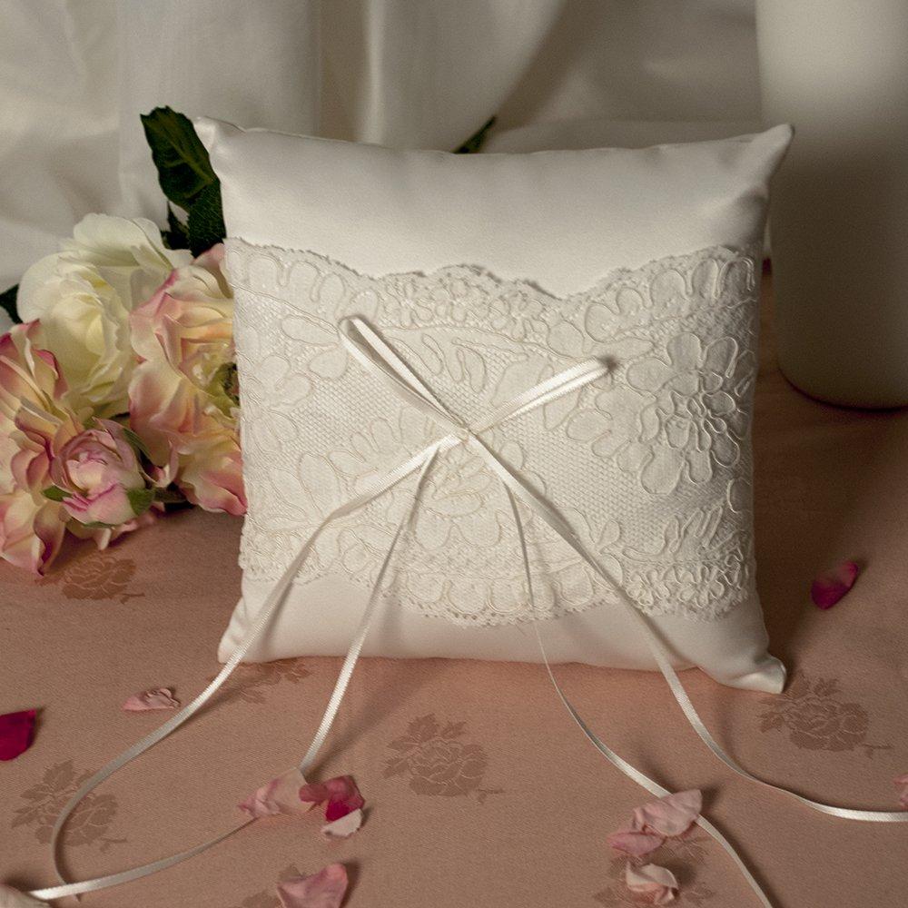 Weddix Vintage - Cojín para alianzas de boda, diseño de ...