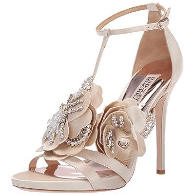 Badgley Mischka Women's Open Toe Heeled Sandal: Shoes
