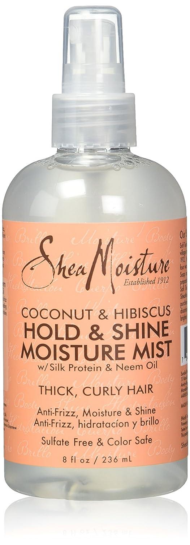Shea Moisture Hold & Shine Moisture Mist Vapo pour les Cheveux 8 oz 290230