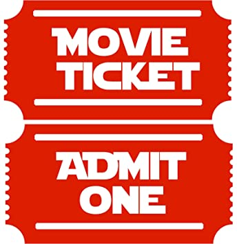 Amazon.com: Sala de Teatro Movie entradas 2 Admit One New ...