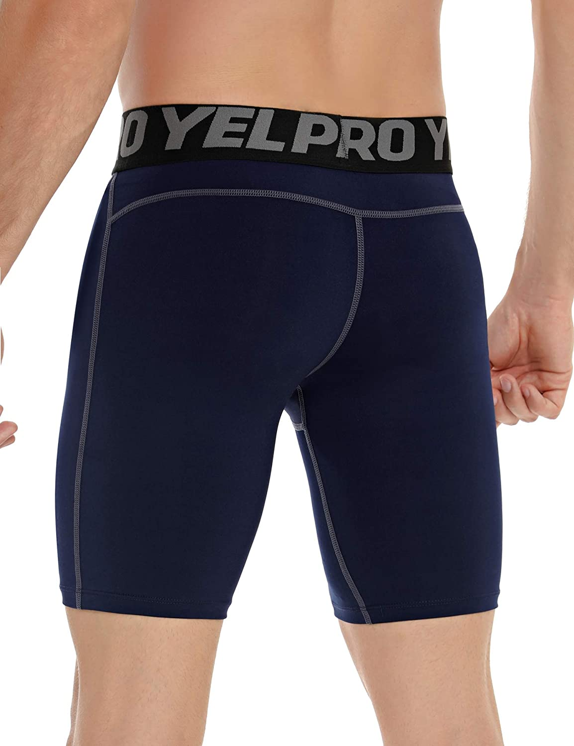 Sykooria Mens Performance Compression Shorts,Quick Dry Shorts Tight Breathable Pants for Sports
