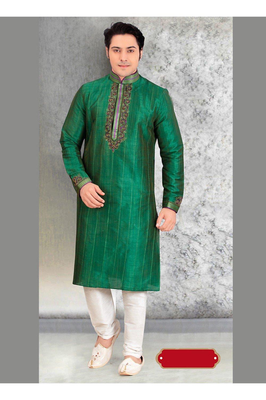 Da Facioun Traditional Fashion Comfortable Kurta Pajama Set For Men,Indian Clothes Gifts For Him by Da Facioun (Image #2)